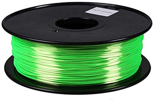 XHCP Printer Filament PLA, Silk 3D Printing Materials 1.75mm Multicolor Profession Print Graffiti Pen Printing Supplies Model DIY Color : Green