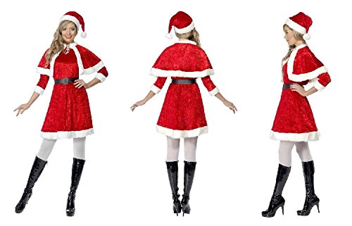 Costume Deguisement Mere Noel Sexy - Carnaval - Fete- Taille S - 266