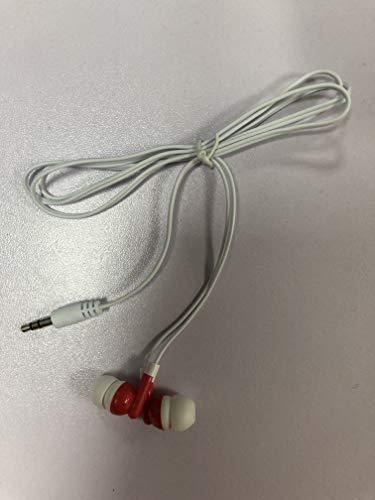 Kensou In-Ear Kopfhörer mit verwicklungsfreiem Flachbandkabel und Mikrofon