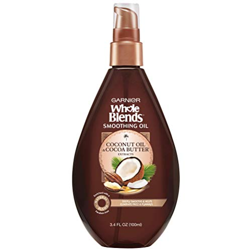 Garnier Whole Blends Coconut Oil & Cocoa Butter Extracts Smoothing Oil - 3.4 fl oz