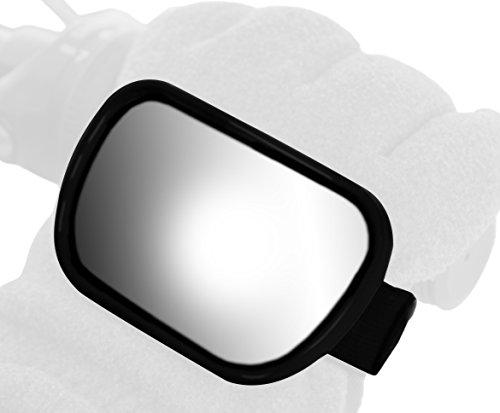 Ken Sean 97013 3 1/2 x 2 1/4' Size Hand Mount Snowmobile Mirror