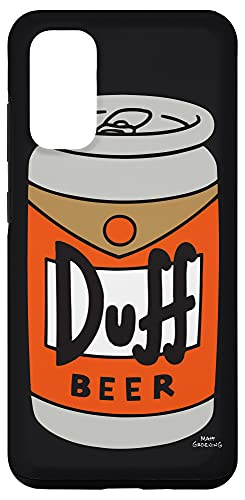Galaxy S20 The Simpsons Duff Beer Black Case