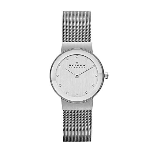 Skagen Women's Ancher Quartz Analog Stainless Steel and Mesh...