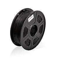 ABS3DプリンターフィラメントABSフィラメント1.75mm3D印刷フィラメント1kgスプール3Dプリンター用3Dフィラメント、黒ABS