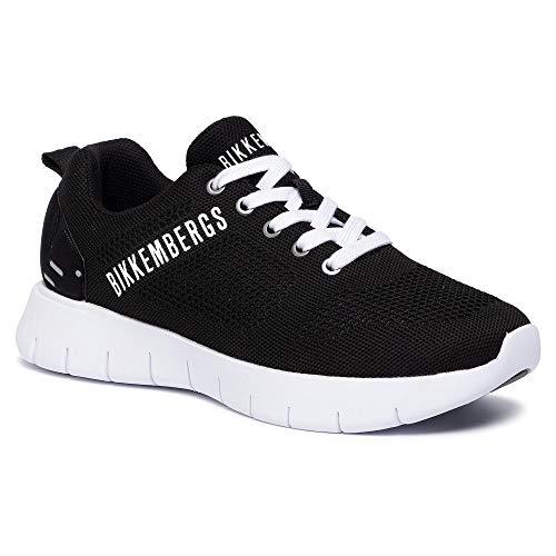 Bikkembergs Zapatillas De Hombre Art B4Bkm0048 Black Color Foto Medida A Elegir Size: 40 Eu
