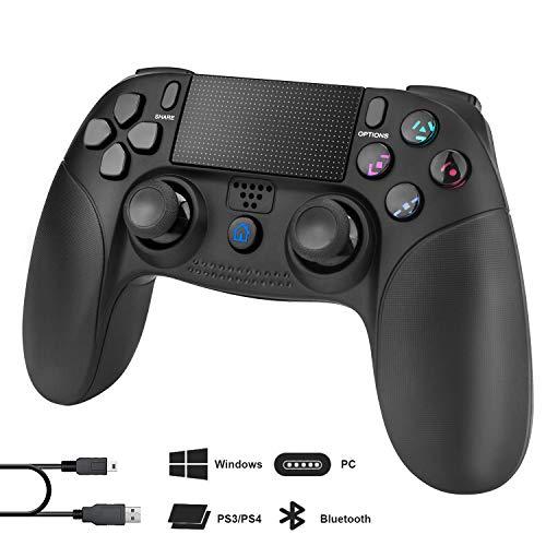 BEINHOME PS4 Controller Wireless,Dual Vibration Gamepad Joystick PS4 Zubehör mit kabelloser Fernbedienung für Sony,kompatibel mit Playstation 4/S3/PC