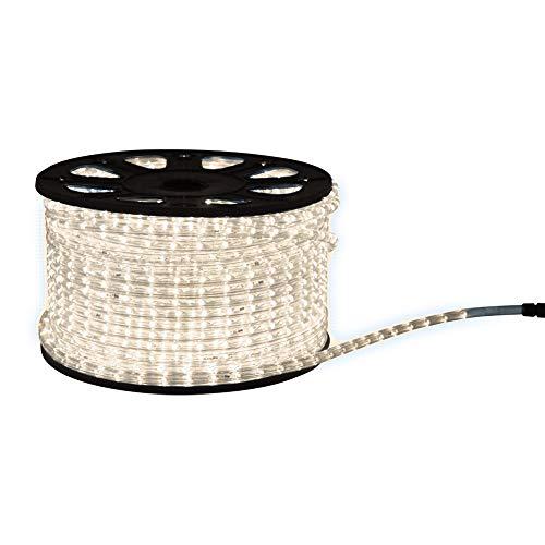 Guirnalda de luces LED con función intermitente (50 m, luz blanca cálida,...