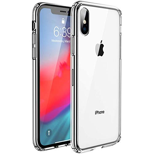 UNBREAKcable Cover Compatibile con iPhone X/XS - [Anti Ingiallimento & Anti Graffio] Custodia per iPhone X/XS 5.8 - Trasparente