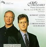 Piano Concerto, No. 15, K.450 / Piano Concerto, No. 26, K.537- Coronation by Robert Levin