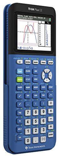 Texas Instruments TI-84 Plus CE Blueberry Graphing Calculator Photo #2