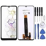 YANTAIAN Piezas de reparación de teléfonos celulares Pantalla LCD y digitalizador Asamblea Completa de BQ BQ-6040L Magia (Color : Black)