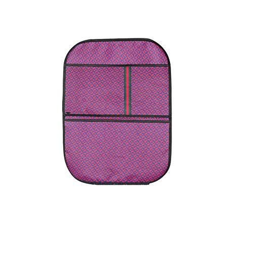 Tapis de protection arrière pour siège de voiture Sac de rangement intérieur pour voiture