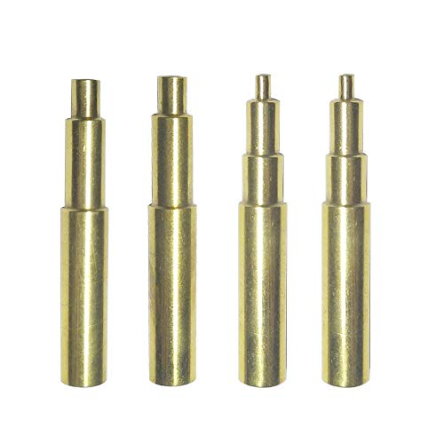 4pcs Heat-Set Insert Installation tip for Hakko FX-888D and Weller ST Series Tips,Work For Connecting 3D Printed Parts