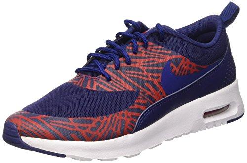 Nike Damen WMNS AIR MAX THEA Print Sneakers, Blau (402 LYL BL-Unvrsty RD-White), 38.5 EU