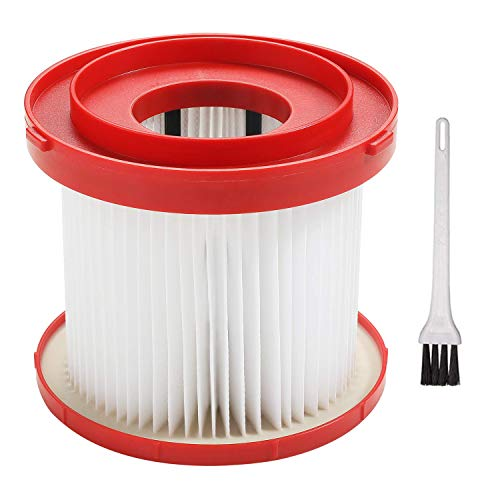 Replacement Filter Compatible with Milwaukee 49-90-1900, 0880-20, 18-Volt Cordless Wet/Dry Vacuum