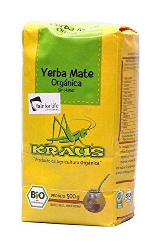 Mate Tee Argentinien, 500g. - Yerba Mate Organica KRAUS 500g