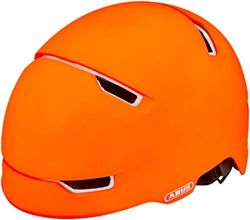ABUS Scraper 3.0 ACE Stadthelm - Robuster Fahrradhelm für den Stadtverkehr - für Damen und Herren - 81778 - Orange, Größe M