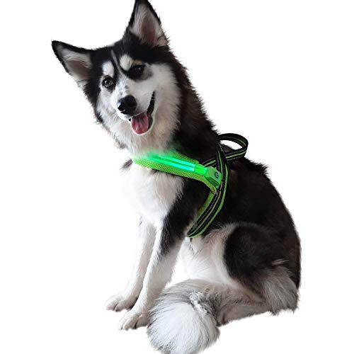 Pet Lovers Stuff Medium Dog Harness - No Pull,...