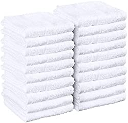 cheap Utopia Towel White Salon Towel, 24 packs (no weight reduction, 16 x 27 inches), highly absorbent …