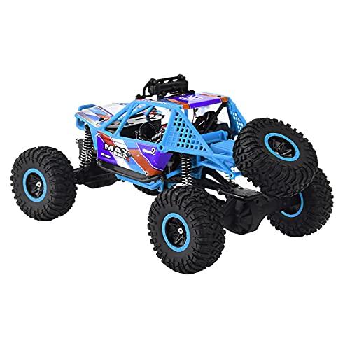 Coche RC Stunt, nuevo 1:16 cuatro ruedas de alta velocidad RC todoterreno vehículo con luces, el mejor regalo de cumpleaños de Navidad para niños y niñas