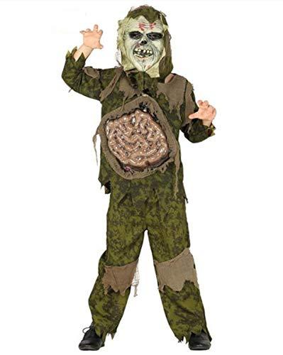 FIESTAS GUIRCA Disfraz de Soldado Zombie Soldado para Disfraz de Terror