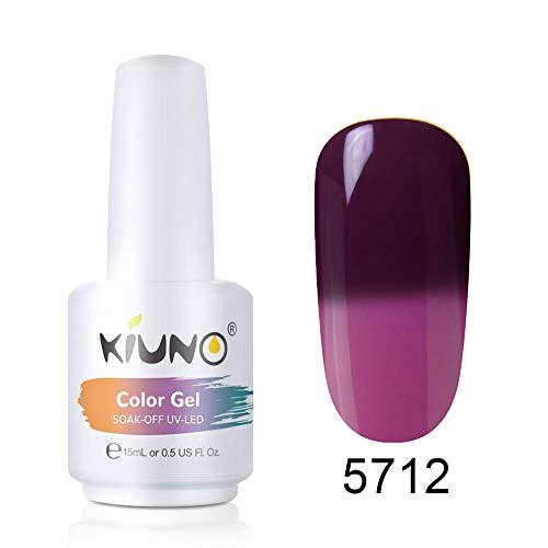 KIUNO Temperatur Farbwechselnder Nagellack Temperature Color-Changing Gel Polish Temperatur...
