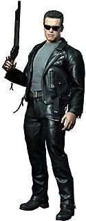 Hot Toys Terminator 2 Judgement Day Movie Masterpiece 1/6 Scale Collectible Figure T800 Arnold Schwarzenegger