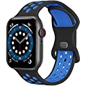 Replacement Silicone Sport Bands for Apple Watch (various colors)