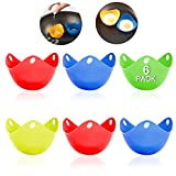 Silicone Egg Poaching Cups, HengLiSam Perfect Poached Egg Maker, Non-Stick Poached Eggs Cu...
