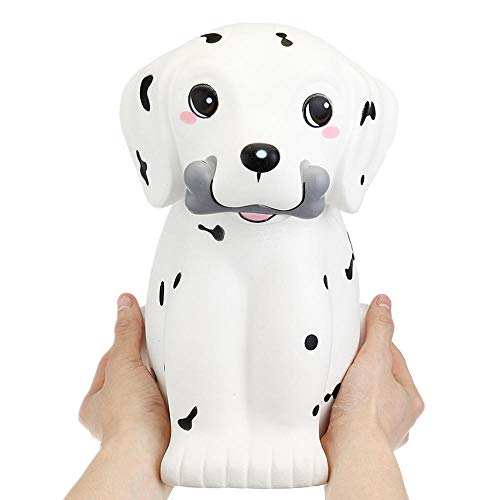 Ganjiang Kawaii Giant Animal Squishy Jumbo Soft Slow Rising Soft Stress Relief Toy, Kids Gifts, Home Decor,Collections (Spot Puppy Dog)