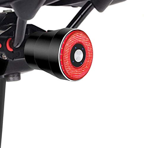 EBUYFIRE ultra Bright Smart Bike Tail Light,USB Rechargeable Brake Sensing Bicycle Light,High Intensity Rear LED Accessories Fits On Any Road Bikes.Easy to Install for Cycling Safety Taillights