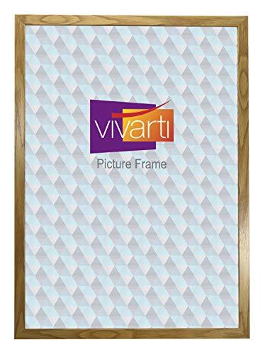 Vivarti eiken afwerking licht hout klaar gemaakt fotolijst, 50 x 70 cm