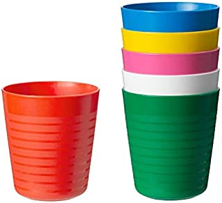 Pack Of 5 School Stationary Essentials Travel Accessories Baker Ross Jungle Chums Bendy Straw Cups For Kids Party Bag Fillers /& Loot Gift Ideas Lunch Box Packs