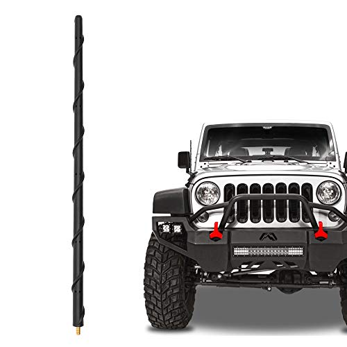 KSaAuto 16' Short Antenna Compatible with Jeep...