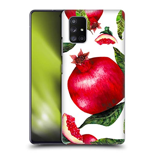 Head Case Designs Officially Licensed Haroulita Pomegranates Food - Fruits Hard Back Case Compatible with Samsung Galaxy A51 5G (2020)