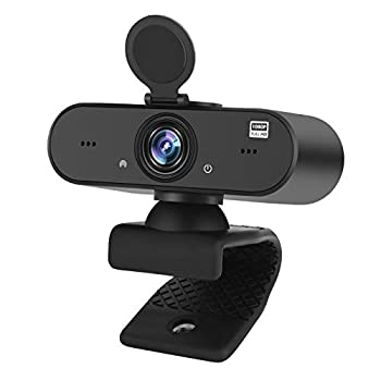 Webcam with Microphone,1080p Full HD Live Streaming Camera USB Computer Webcam [Plug and Play] for PC Mac Laptop Desktop,Suitable for Online Class/Facetime/Teams/Gaming Zoom/Skype/OBS/YouTube/etc.