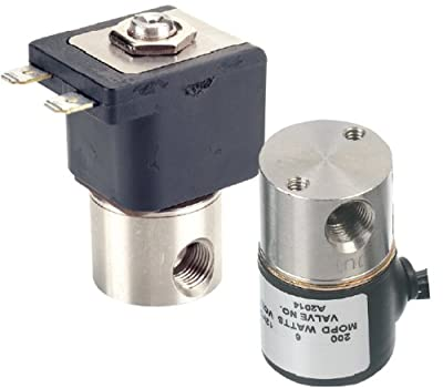 "Gems Sensors A2011-C203 303 Stainless Steel General Purpose Solenoid Valve, 1000 psig Pressure, 0.02 Cv, 1/32"" Orifice, 12 VDC Voltage by Gems Sensors & Controls"