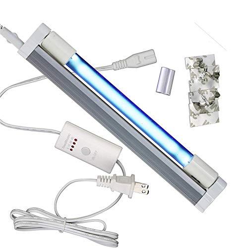 UV Lampe Sterilisator Ozon Keimtötende UV-Lamp T5 Rohr UVC Desinfektion Kill-Staubmilbe UV Lampe Für Krankenhäuser Hotel Haushalt Garderobe Toilette Auto Haustier,8w