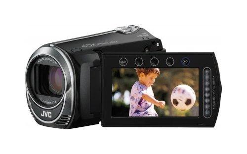 JVC Everio GZ-MS230 Camcorder (8GB Speicher, 45x optischer Zoom, 800x digitaler Zoom, Bildstabilisator, 6,85cm (2,7 Zoll) LCD-Monitor) schwarz