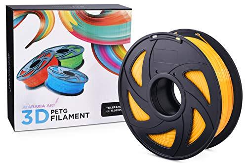 Ataraxia Art PETG 3D Printer Filament (Orange)