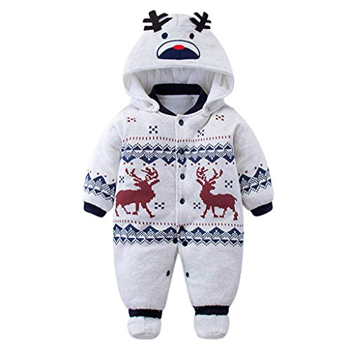 Bebé muchachos de las niñas mameluco Recién nacido espesar Traje para la nieve Otoño invierno Infantil Buzos Equipar 3 meses Vine