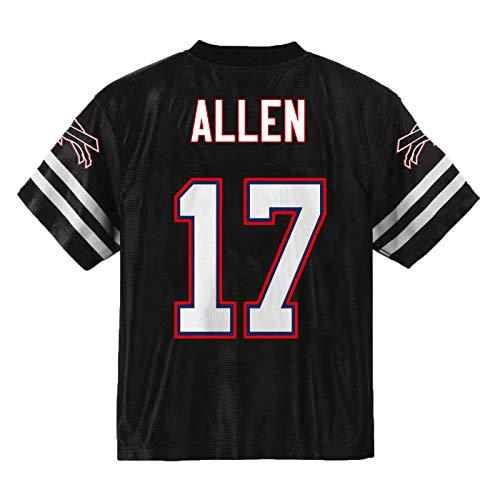 Josh Allen Buffalo Bills #17 Blackout Youth Alternate Player Jersey (Youth - Small)