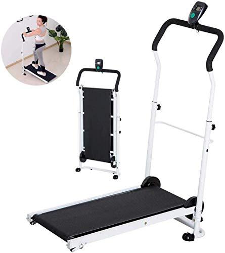 Opvouwbare loopband voor thuis, mini gewichtsverlies, opvouwbaar, LCD, kantelbaar, voor fitnessstudio, aerobic, thuisvaardigheden
