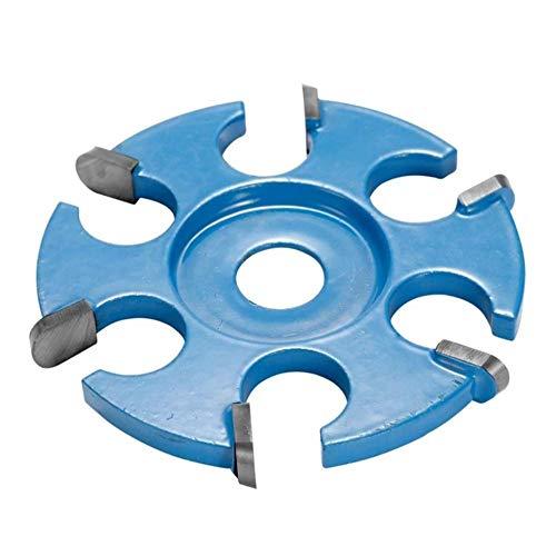 Filete de hoja hexagonal Herramienta de tallado de madera con potencia anti-retroceso Accesorio de amoladora angular para amoladora angular de apertura de 16 mm Hojas de sierra 3 piezas