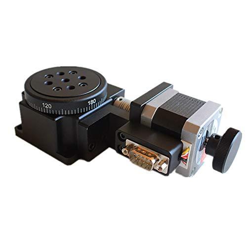 Electric Rotating Machine Optical Rotating Platform, 360° Optical High Precision Motorized Rotation Stage, Load 30Kg