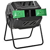 Best Compost Tumblers - Outsunny 160L Tumbling Compost Bin Outdoor Dual Chamber Review