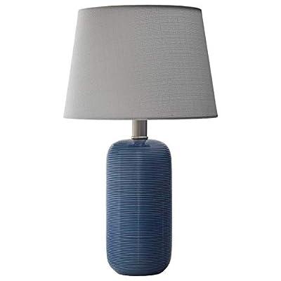 Stone & Beam Eddy Modern Ceramic Table Lamp With Bulb