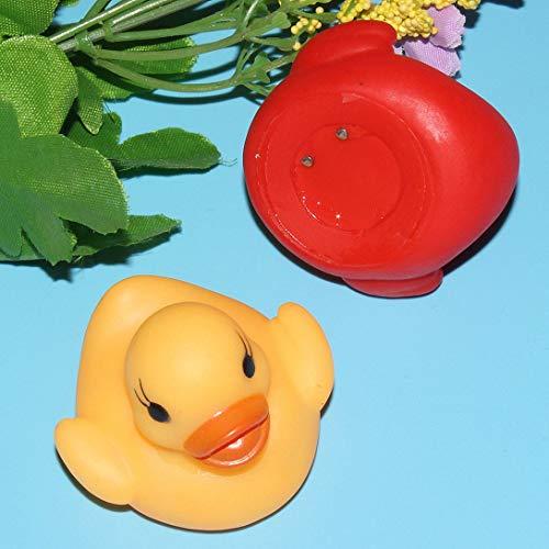Swiftswan LED Wasser Induktion Glühen Ente schwimmende Wasser Flash Ente Baby Bad Spielen Ente schwimmende Wasser Ente Spielzeug