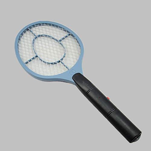 Zanzara elettrica Fly Swatter, Batteria Racchetta Portatile, Estate Calda Cordless Mosquito Killer Home Bug Zapper Fly Trap Blue Light