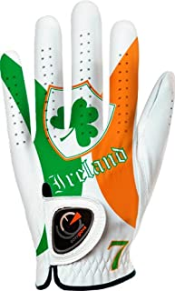 easyglove Flag_Ireland Men's Golf Glove (White)